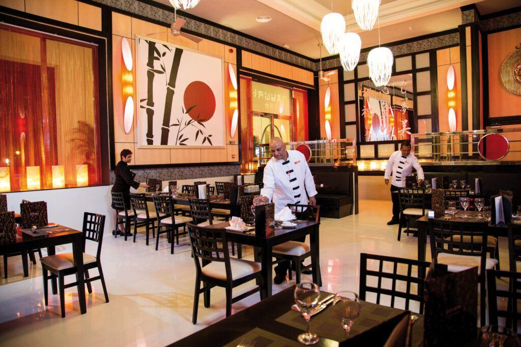 Riu Palace Aruba Japans Restaurant