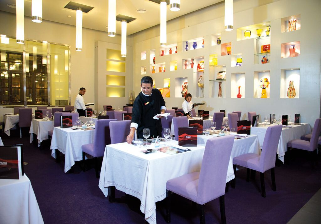 Riu Palace Aruba Krystal restaurant