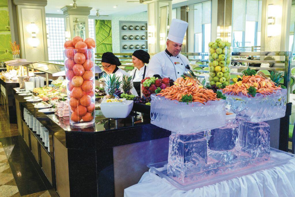 Riu Palace Aruba hoofdrestaurant