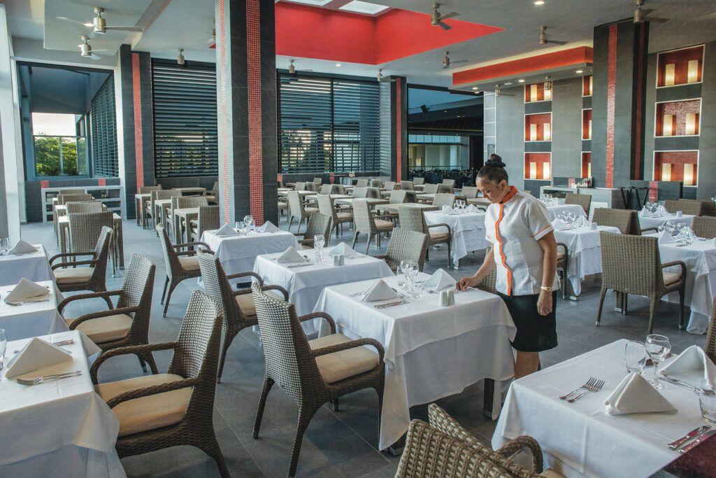Riu Palace Antillas Main restaurant_terrace