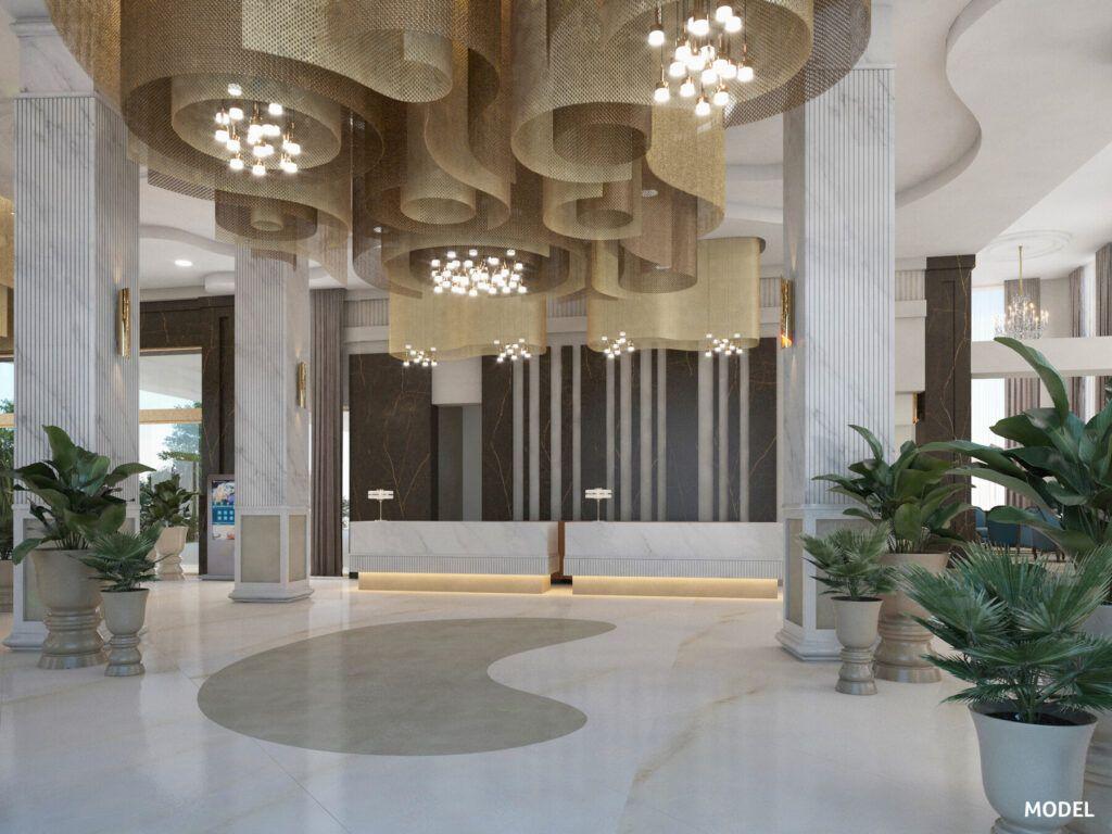 Riu Palace Maspalomas Model_Reception