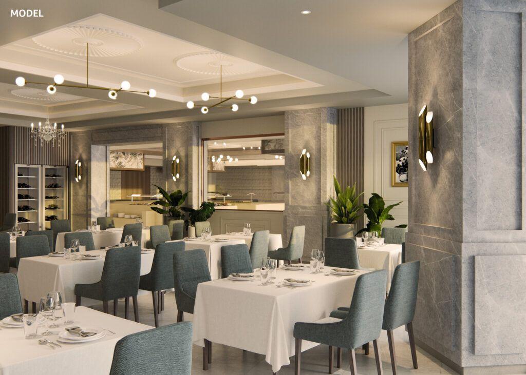 Riu Palace Maspalomas Model_Main restaurant