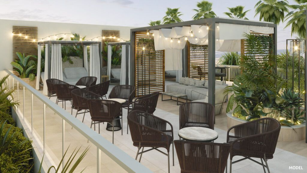 Riu Palace Maspalomas - Model_Pool bar chill out terrace