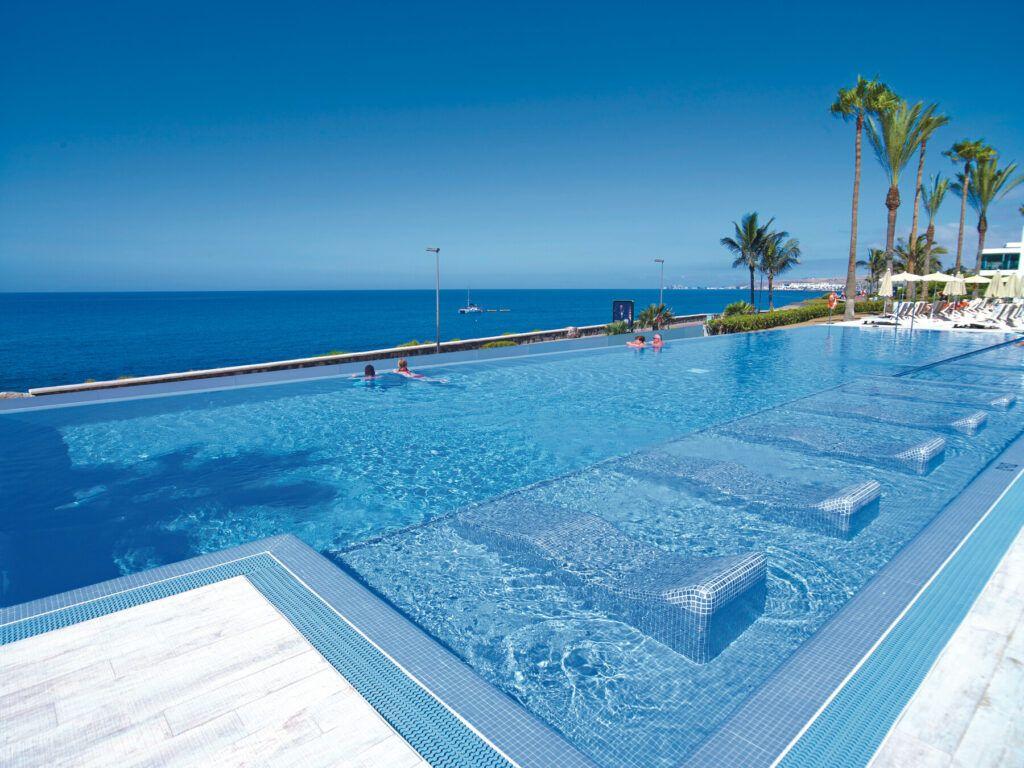 Riu Palace Meloneras Panorama zwembad