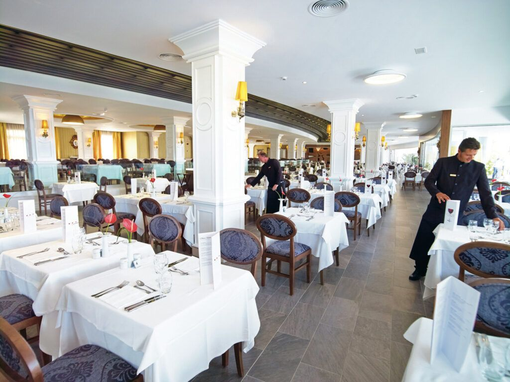 Riu Palace Meloneras hoofd restaurant