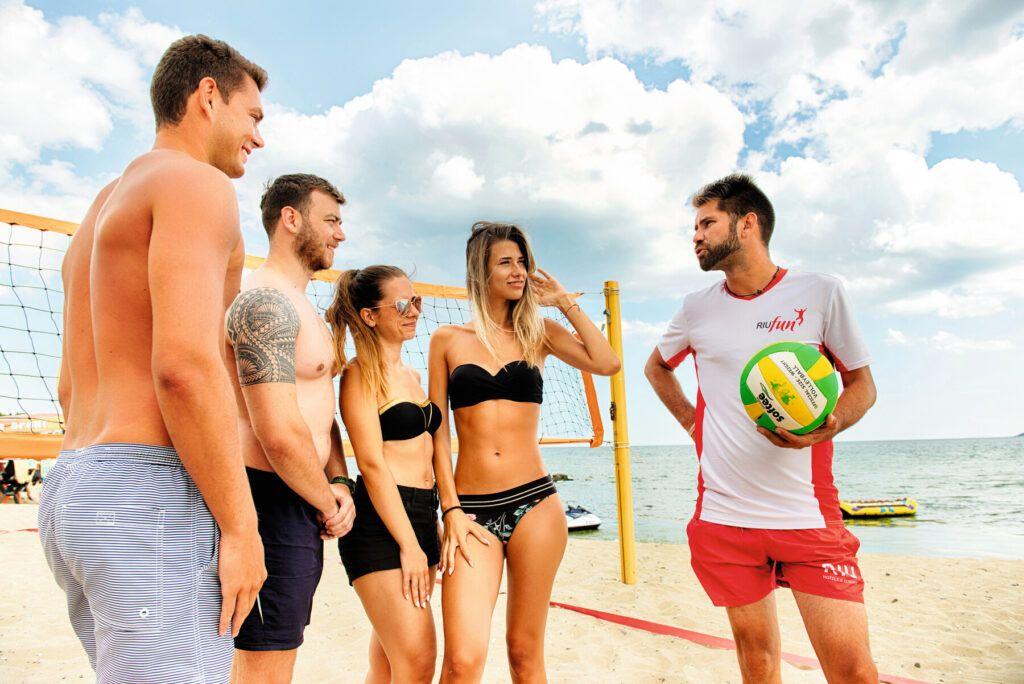 Riu Palace Sunny Beach Volley ball court