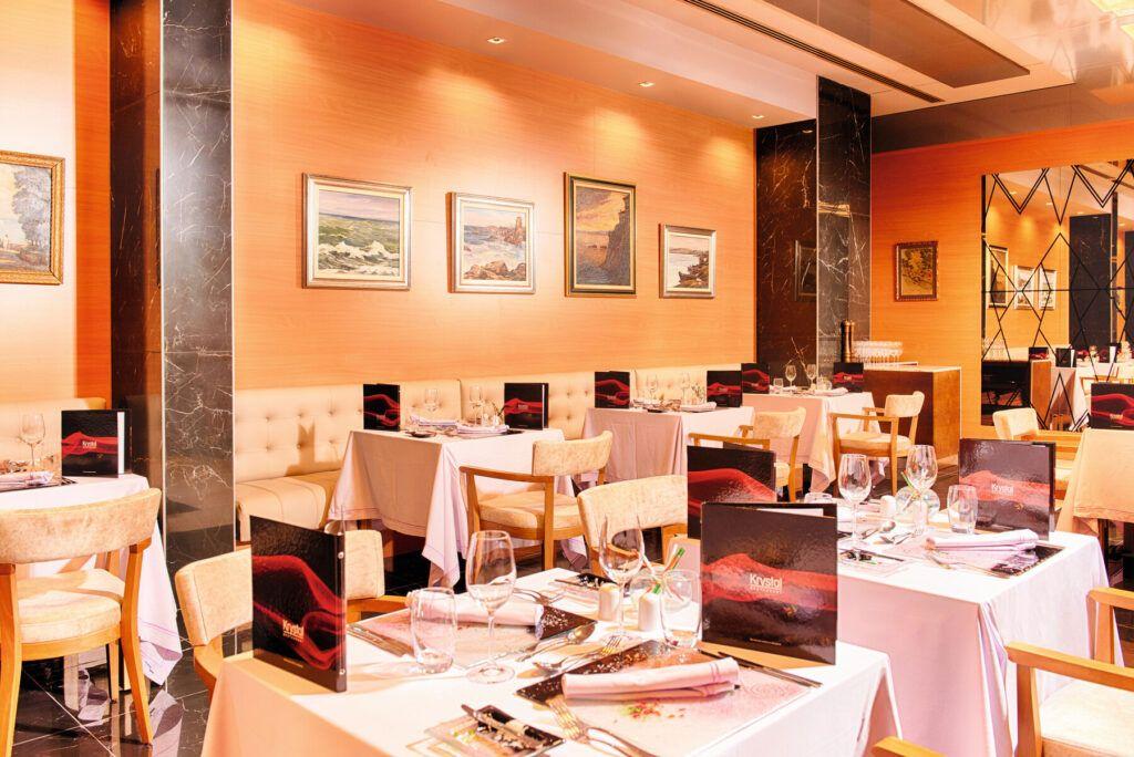 Riu Palace Sunny Beach Krystal fusion restaurant