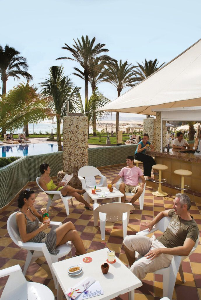 Riu Palace Tres Islas Poolside bar