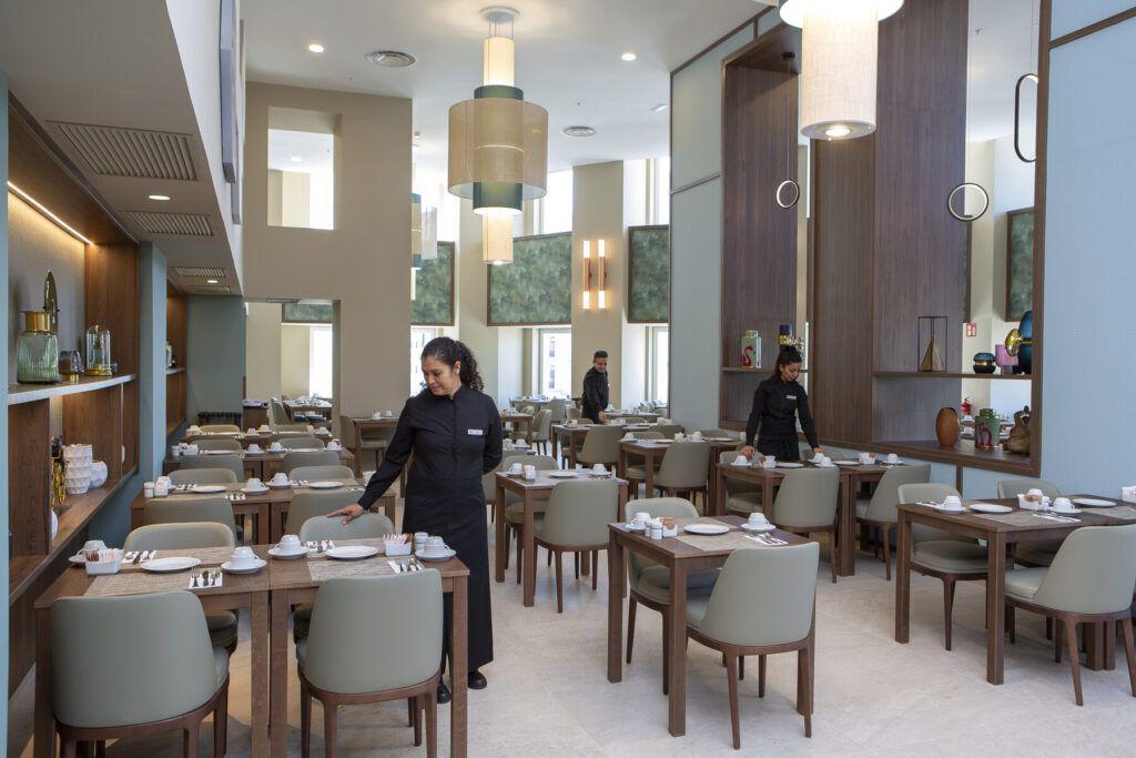 Riu Plaza Espańa restaurant