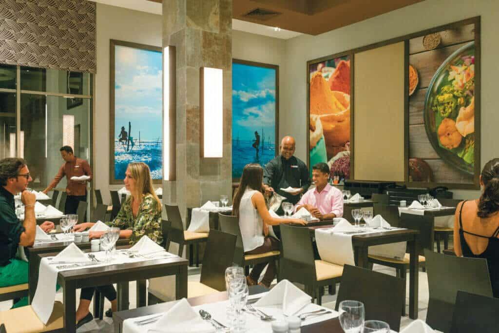 Riu Sri Lanka Ceylon restaurant