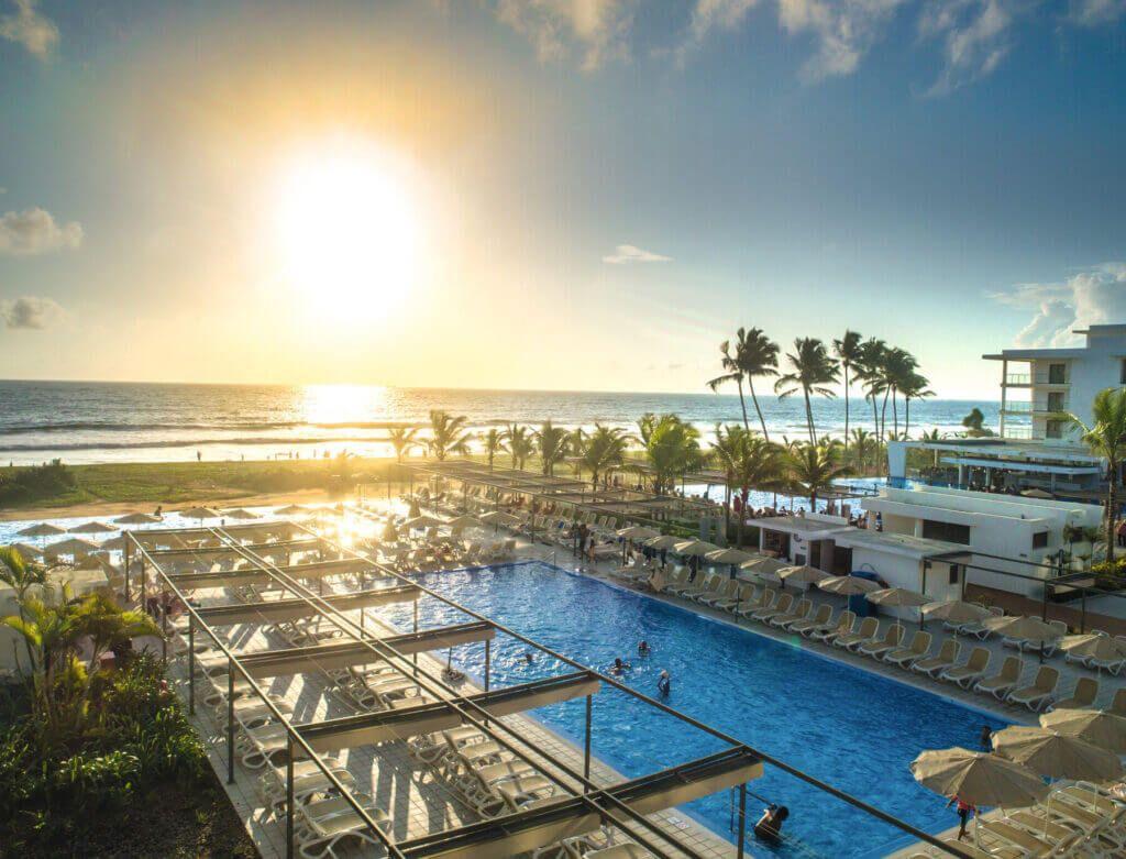 Riu Sri Lanka  Sunset