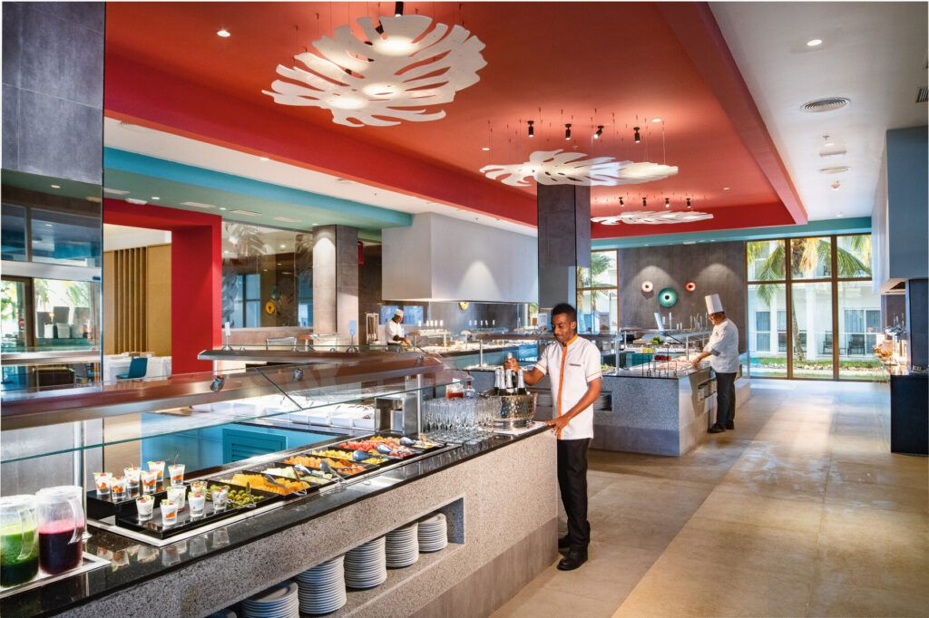Riu Palace Tropical Bay restaurant