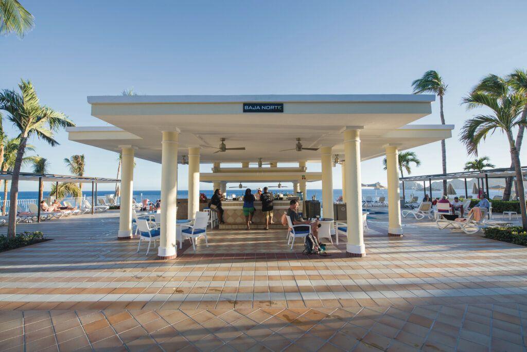 Riu Palace Cabo San Lucas  Baja Norte poolside bar