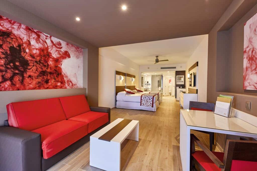 Riu Palace Costa Mujeres ruimere Junior suite