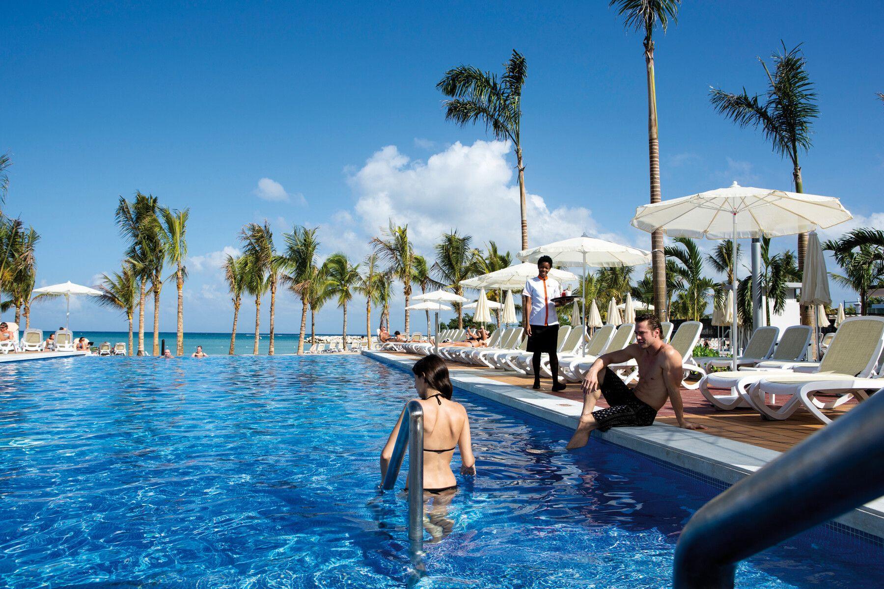 Riu Palace Jamaica zwembad