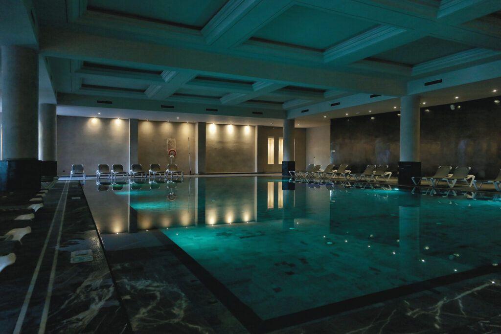 Riu Palace Tikida Agadir binnen zwembad