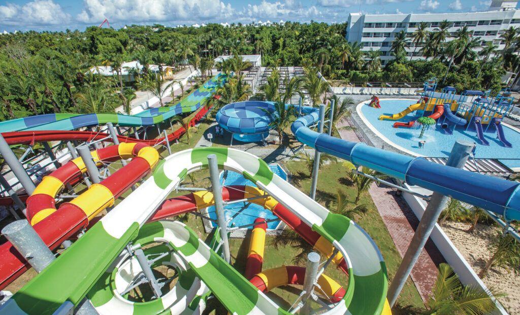 Riu Palace Macao Splash water world at Riu Resort