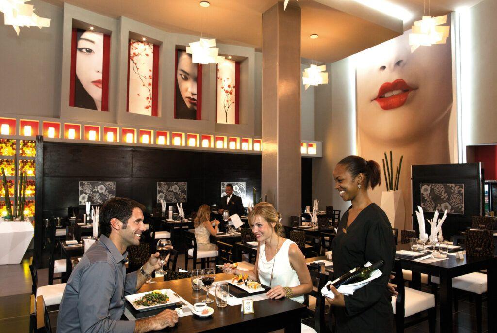 Riu Palace Bavaro  Japanese restaurant