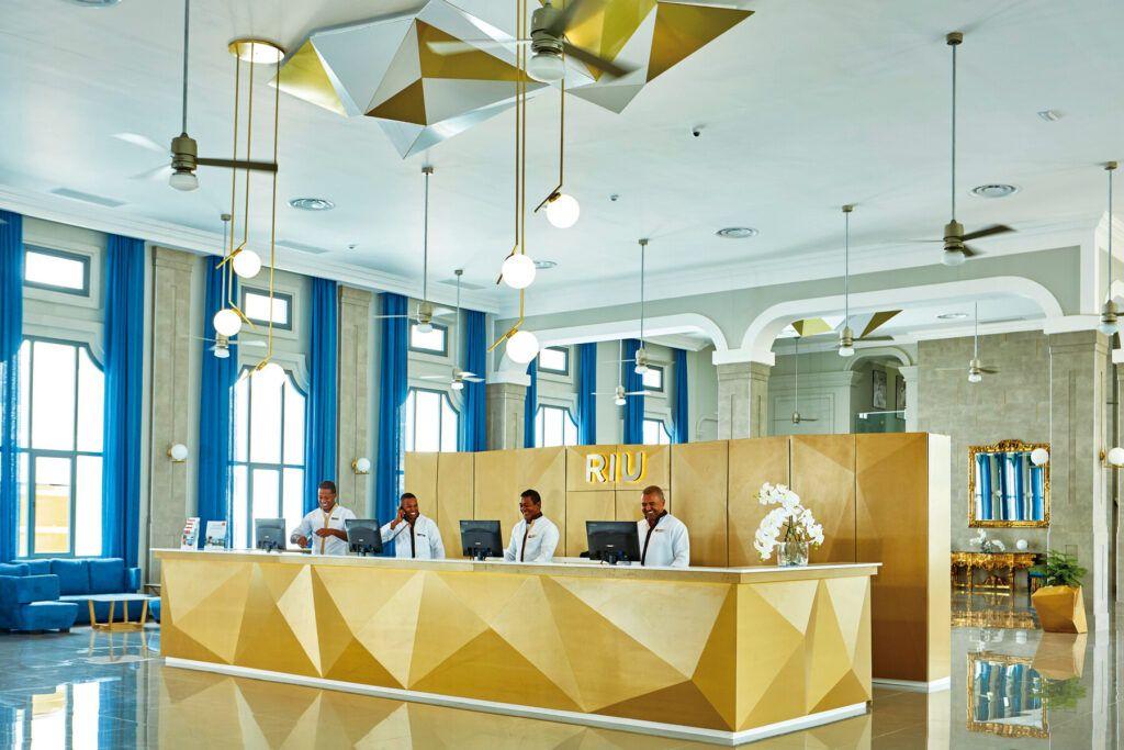 Riu Palace Punta Cana Reception