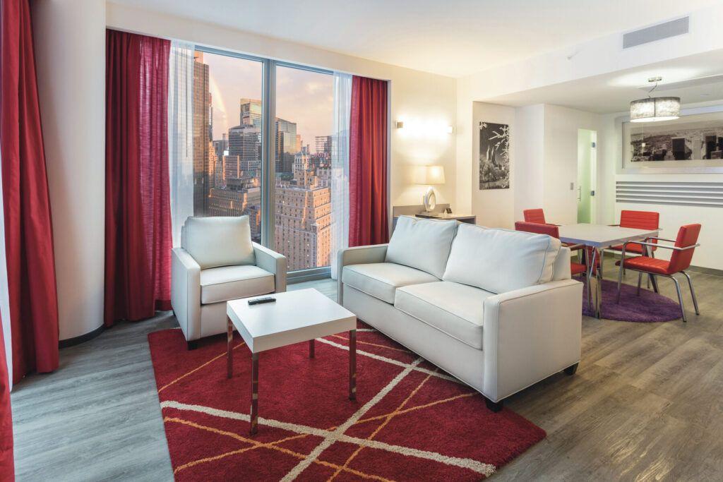 Riu Plaza New York Times Square Presidentiële suite
